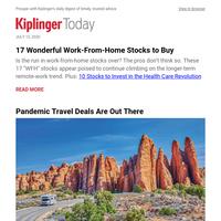 17 Wonderful Work-From-Home Stocks