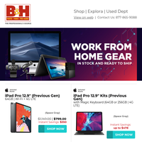 Work from Home Gear – In Stock & Ready to Ship