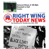 All Lives Matter Protesters Continue To Clash With Black Lives Matter...