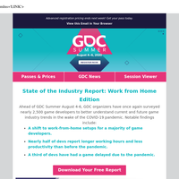 The State of the Industry Report: Work from Home Edition is now available