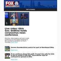 Live video: Ohio Gov. DeWine holds coronavirus news conference