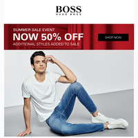 Up to 50% Off Your Favorite Jeans