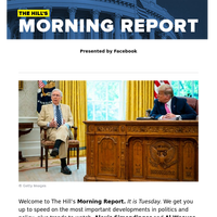 The Hill's Morning Report - Presented by Facebook - 1/ Trump admin, lawmakers draw battle lines in COVID-19 relief negotiations. 2/ Researchers champion promising COVID-19 treatment, vaccine candidates as pandemic awaits cure. 3/ Dem leaders demand