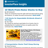10 Work-From-Home Stocks to Buy