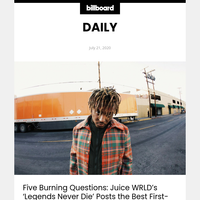 Five Burning Questions: Juice WRLD's 'Legends Never Die' Posts the Best First-Week Numbers of 2020