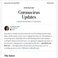 Coronavirus Updates: Americans still have little immunity to virus