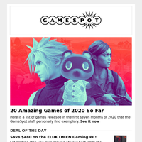 20 Amazing Games of 2020 | Sea of Thieves Hits New Player Milestone
