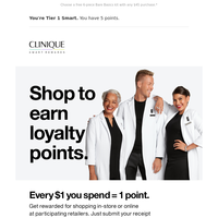 Earn points everywhere you shop.