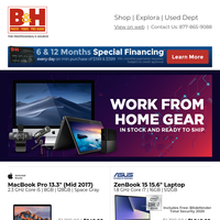New Deals on Work from Home Gear