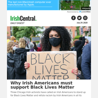Why Irish Americans must support Black Lives Matter