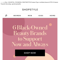 6 Black-Owned Beauty Brands