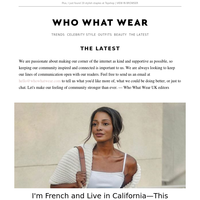 I'm French and live in California—this is my 7-piece wardrobe