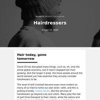 Hairdressers: Brushing it off