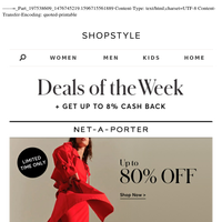 7 Deals of the Week — Up to 80% Off