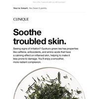 Green tea's calming powers.