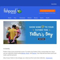 ❤️👨‍👦‍👦  🎁 Amazing Dad Gifts for this Father's Day - plus FREE Shipping on all your purchases 🚚