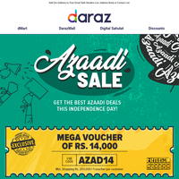 Happy Independence Day | Mega Voucher of Rs. 14,000 🇵🇰