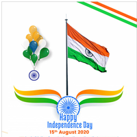 Best wishes and happy Independence Day 2020
