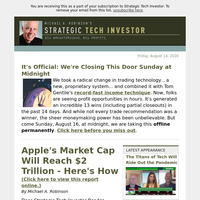 Apple's Market Cap Will Reach $2 Trillion - Here's How