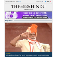 Daily Digest: India celebrates 74th Independence Day