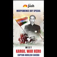 Kargil से Corporate तक | Captain Akhilesh Saxena | Independence Day Special | Jahan Josh Wahan Raah