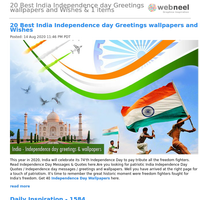 20 Best India Independence day Greetings wallpapers and Wishes & 1 items