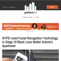 NYPD confirmed it used facial recognition technology to locate Black Lives Matter activist