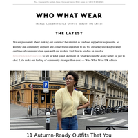 11 autumn-ready outfits you can wear now