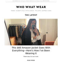 This $60 Amazon jacket goes with everything—here's how I'm wearing it