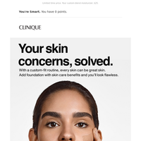 3 skin concerns. 3 routines.
