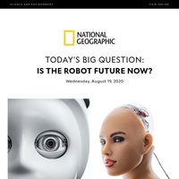 SCIENCE: The robots have arrived