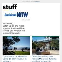 Coronavirus: Auckland at Covid-19 alert level 3, in pictures