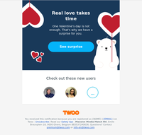 ❤️ {NAME}, we have a Valentine's surprise for you!