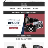 Our Famous Virtual Garage Sale | 💻