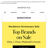Top Brands on Sale at Nordstrom Anniversary