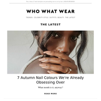 7 autumn nail colours we're already obsessing over
