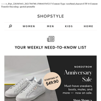 Must-Have Shoes on Sale at Nordstrom Anniversary