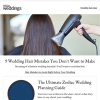 9 Wedding Hair Mistakes You Don't Want to Make
