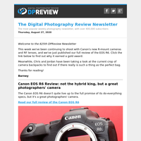 Digital Photography Review Newsletter: Thursday, August 27, 2020