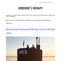 Woman Boards Submarine With Man, Never To Be Seen Again