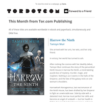 Seanan McGuire for $2.99, Harrow A NYT Bestseller, and a Free Sampler