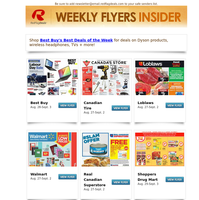 New IKEA Flyer, Back to School Sales at Staples, Walmart and The Source Plus Grocery Flyers from No Frills, Food Basics, Giant Tiger, Loblaws, Real Canadian Superstore + More!