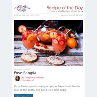 Summery Rose Sangria
