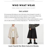 I found the best autumn-ready buys from M&S, Topshop and H&M