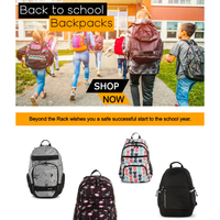 Back to school backpacks starting at $21.99 🎒