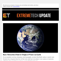 Rare Meteorites Point to Origin of Water on Earth / New Deep Dive Reveals Secrets of AMD's Zen 2 Architecture / Doom Eternal Hits 1,000fps on Liquid Nitrogen PC
