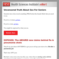 Uncensored Truth About Sex For Seniors