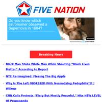 "Black Man Stabs White Man While Shouting ""Black Lives Matter"" According to Report"