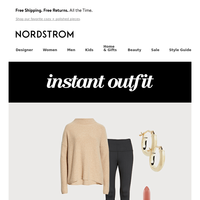 Instant Outfit: work from home