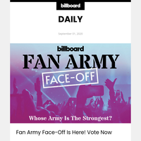 Fan Army Face-Off Is Here! Vote Now
